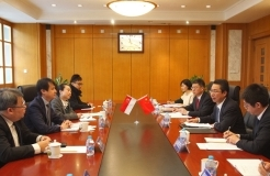 Shen Changyu Meets with Chief Executive of IPOS Daren Tang in Beijing