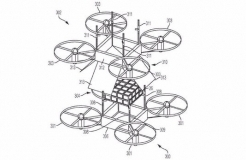 IBM Patent Outlines Mid-air Drone-to-drone Cargo Transfers