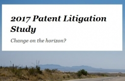 PWC released 2017 Patent Litigation Study