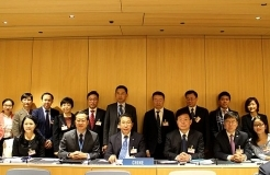 SIPO Commissioner led a delegation for the 57th WIPO Assemblies