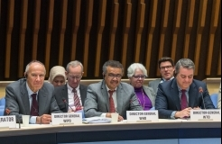 WIPO, WHO, WTO Directors General Pledge to Expand Cooperation on Health, IP and Trade