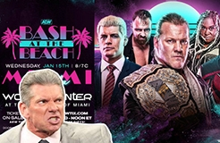 "WWE Suing AEW Over ""Bash At The Beach"" Trademark?"