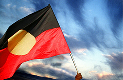 Copyright fight brews over sale of Aboriginal flags